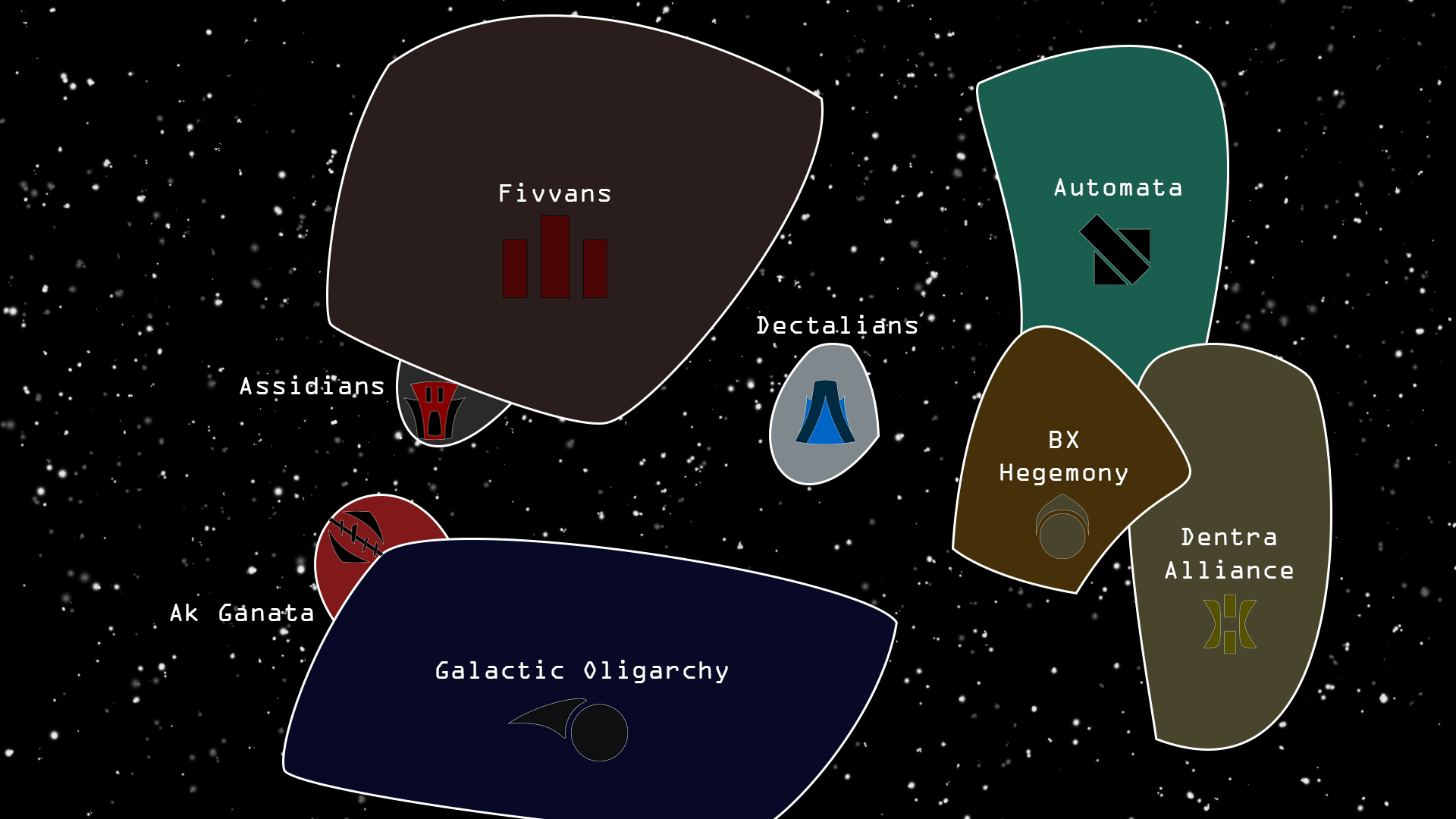 map of known galaxies - photo #21